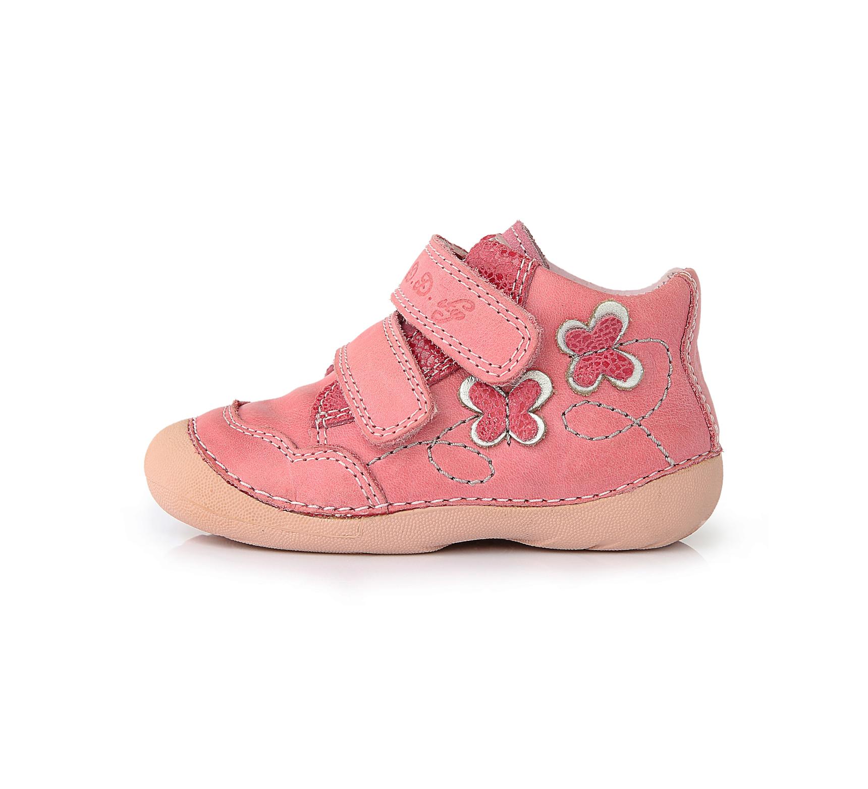 Celoroční dětská obuv D.D.STEP 015-128B růžové vel.22 empty 78ac8e1d0c