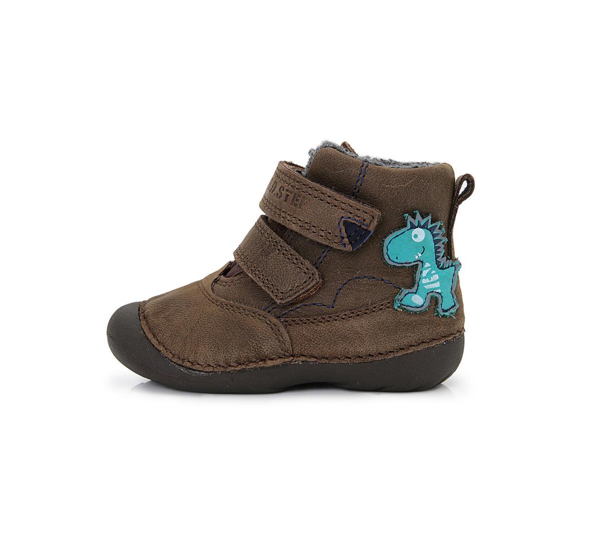 b14348eb8c0 Dětské zimní boty D.D.STEP 015-126A vel.24 hnědé