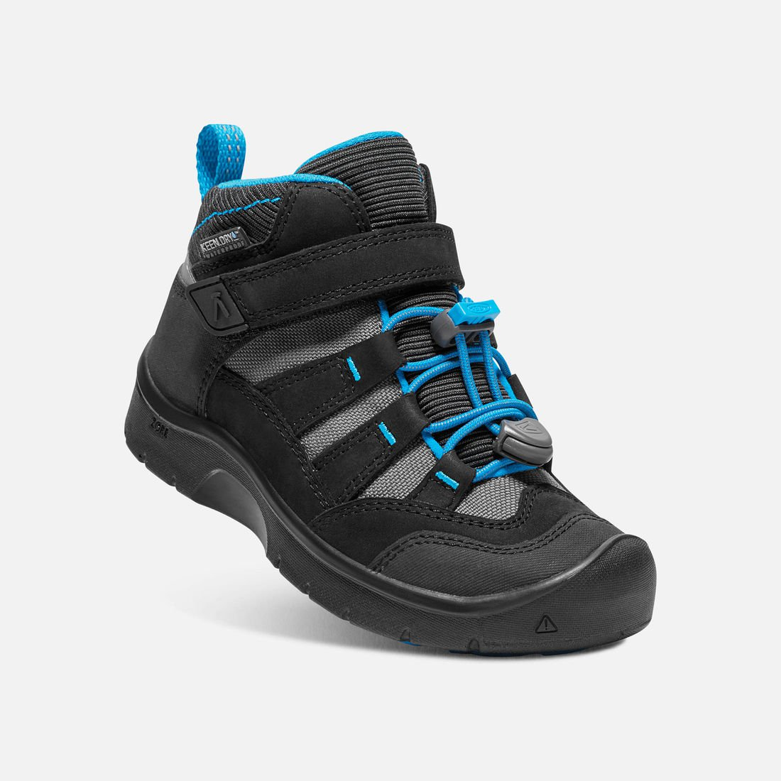 KEEN HIKEPORT MID WP K black/blue jewel vel.31