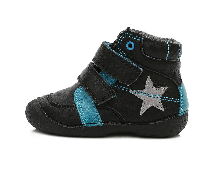 c82850f3cc6 Dětské zimní boty D.D.STEP 015-162A black vel.23