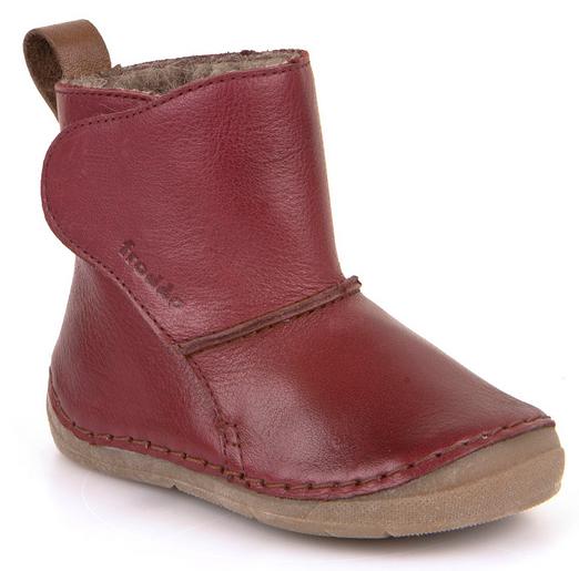 b254eca66ce Dětská zimní obuv FRODDO bordeaux vel.30