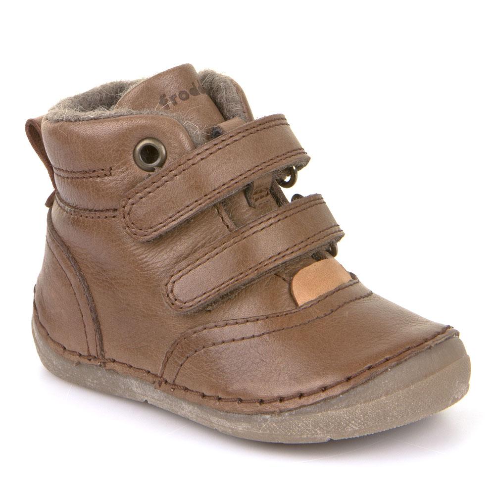 ef9cd32b3a Dětská zimní obuv FRODDO světle hnědé vel.21