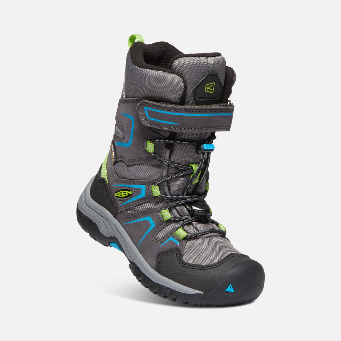 KEEN LEVO WATERPROOF WINTER BOOT šedé vel.29