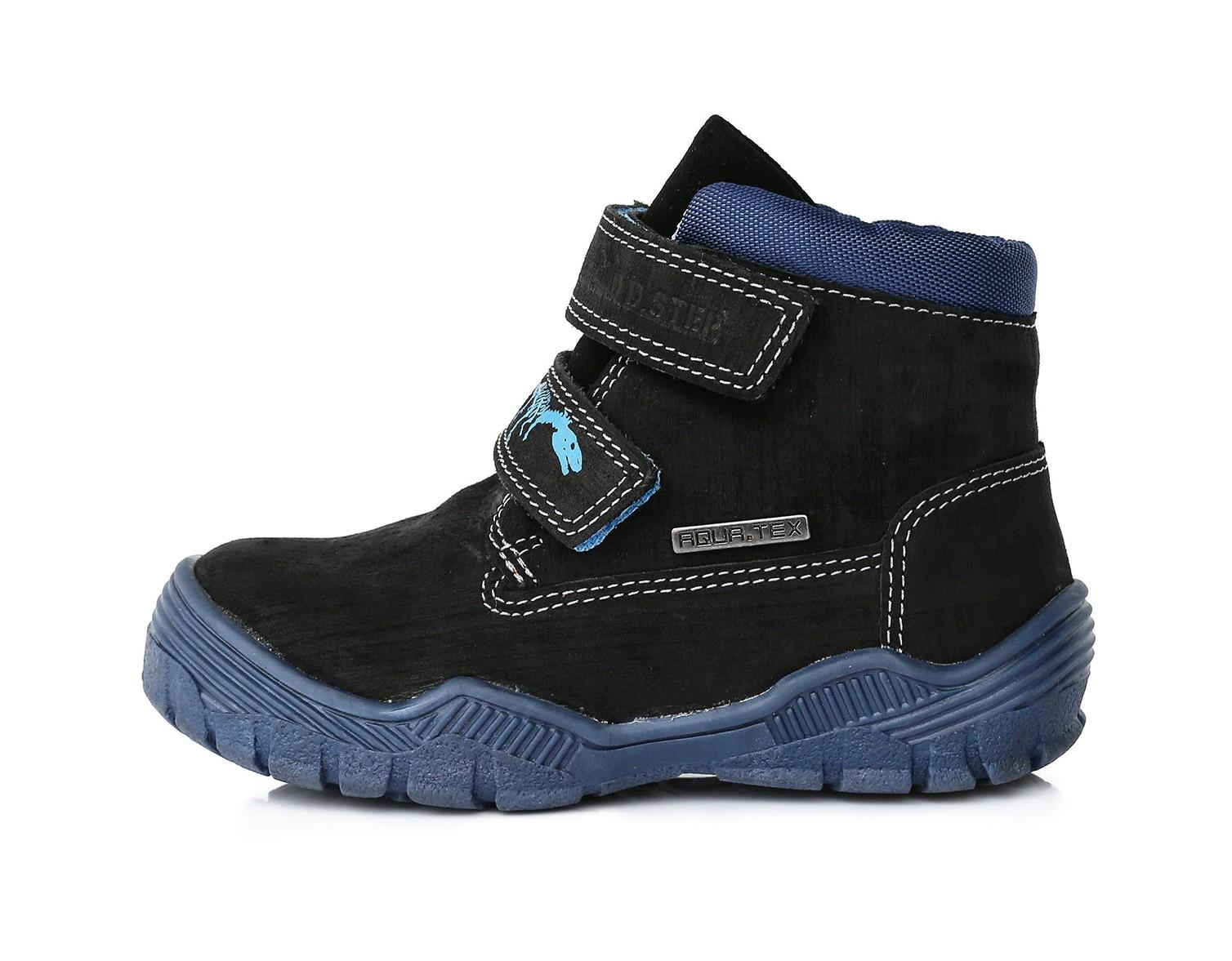 Celoroční boty D.D.STEP F651-912M černo-modré vel.25  35dfe536d8