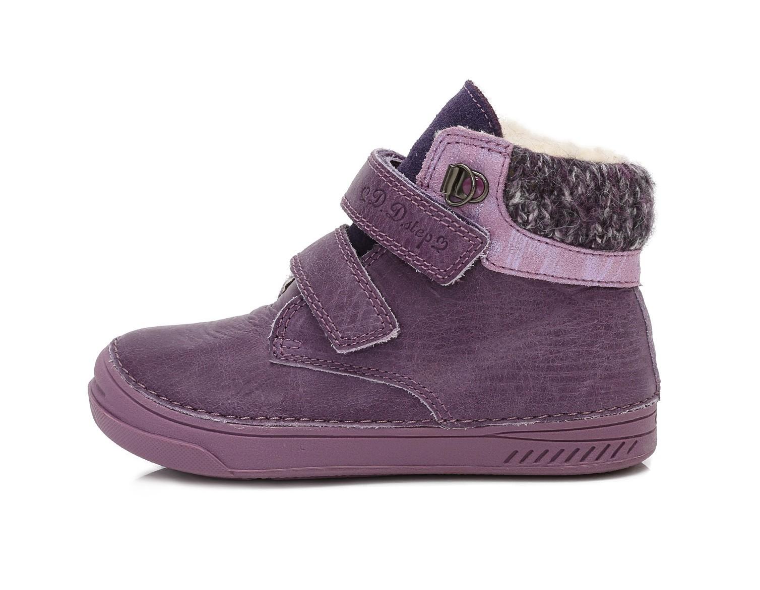 dad3ee2b03f6 Dětské zimní boty D.D.STEP 040-423DM fialové vel.26