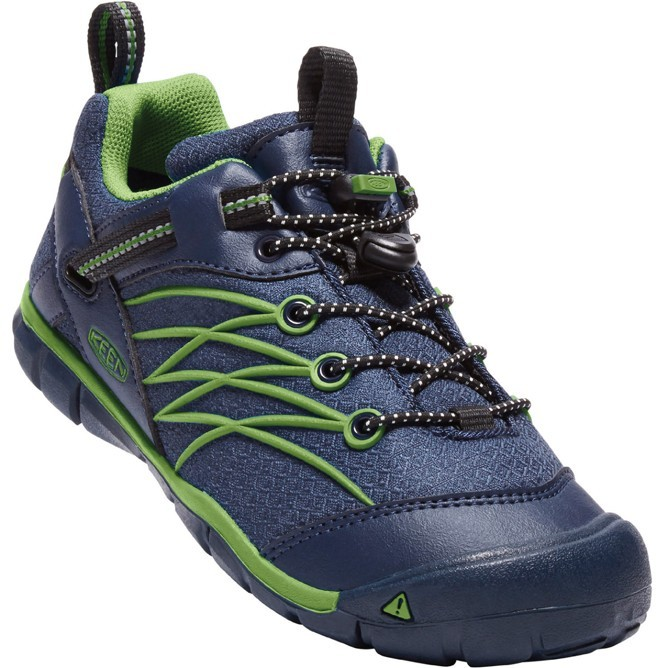 KEEN CHANDLER CNX WATERPROOF dress blues/greenery vel.34