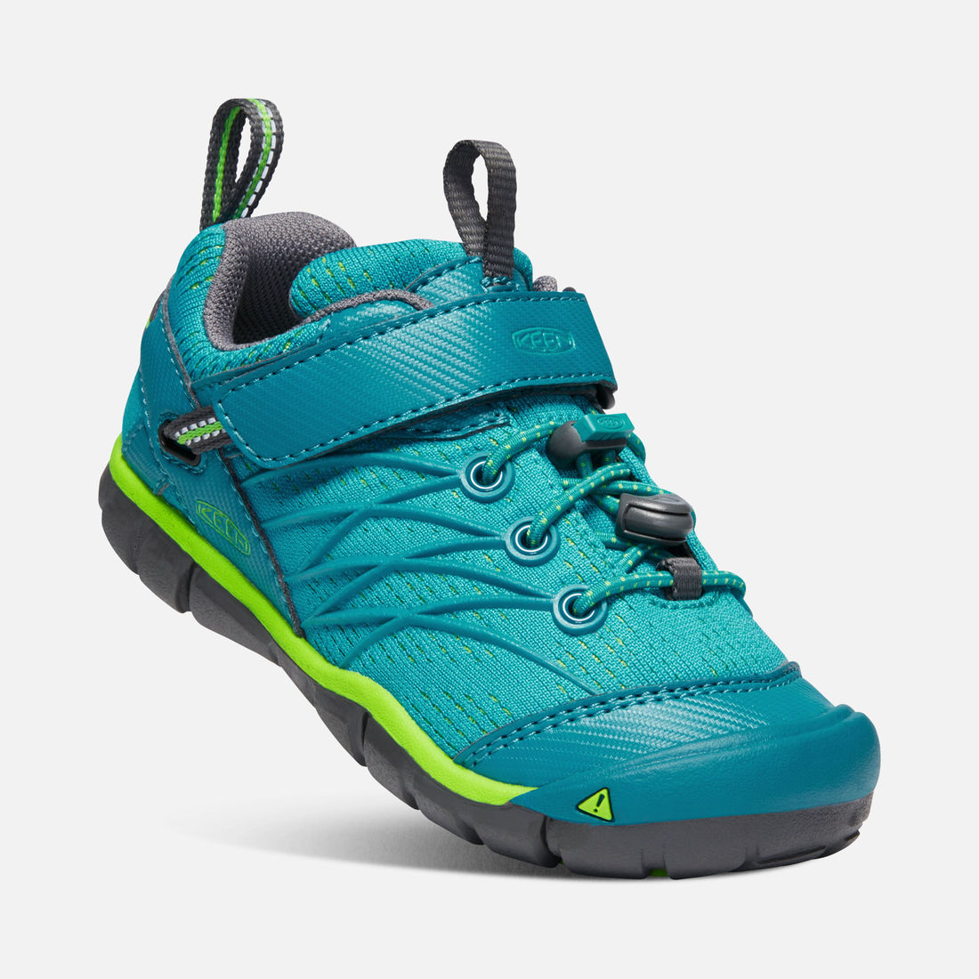 KEEN Chandler CNX tahitian tide/bright green vel.31