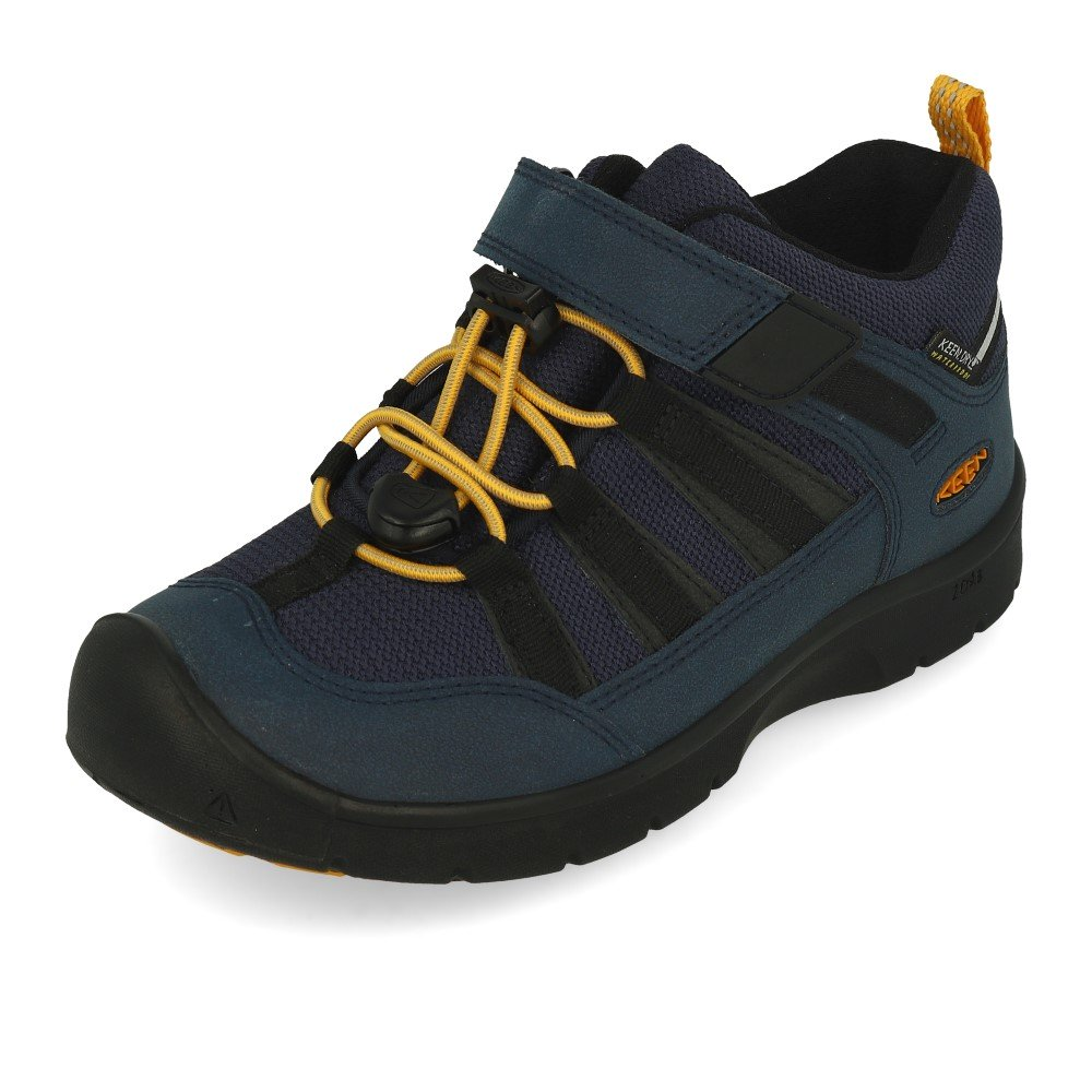KEEN HIKEPORT WP blue nights/sunflower vel.32/33