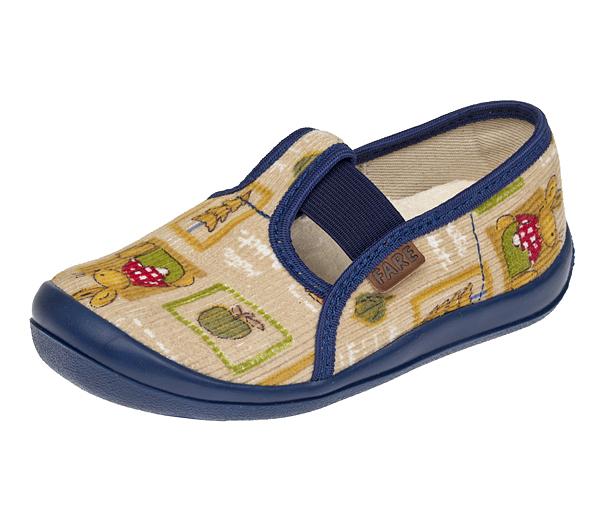 70010ab93 Dětské bačkory FARE béžovo-modré vel.28 | Dětská obuv 100botiček