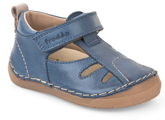 7abd82aa43f Dětské sandálky FRODDO denim vel.21