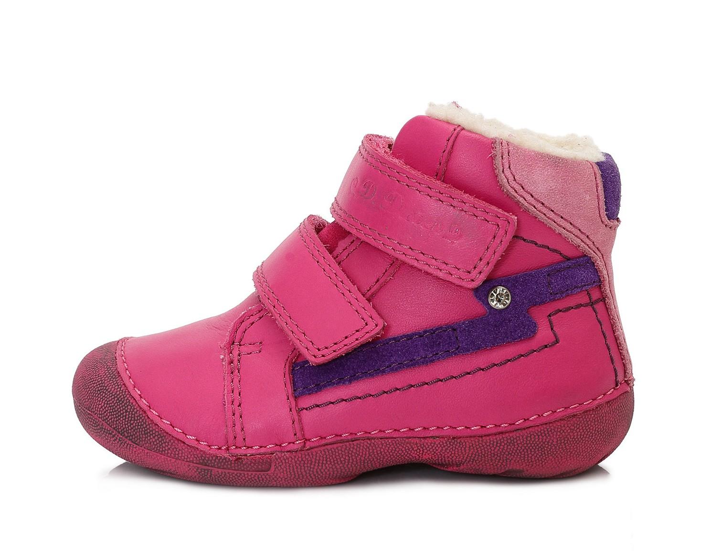 Dětské zimní boty D.D.STEP 015-163E růžové vel.23  4973707ddd