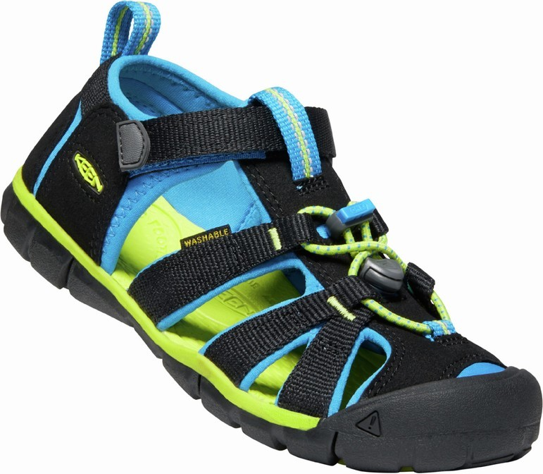 KEEN SEACAMP II CNX black/brilliant blue vel.24
