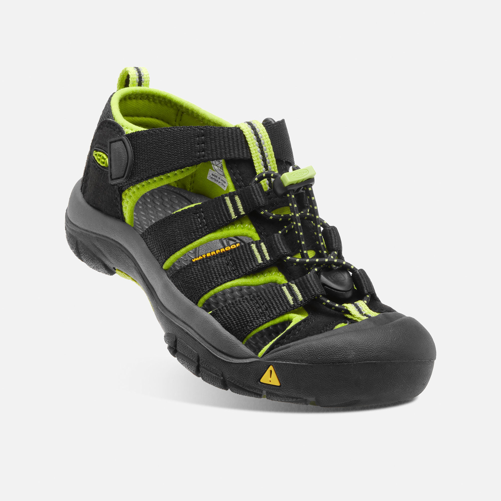 KEEN Newport H2 black/lime green vel.32/33