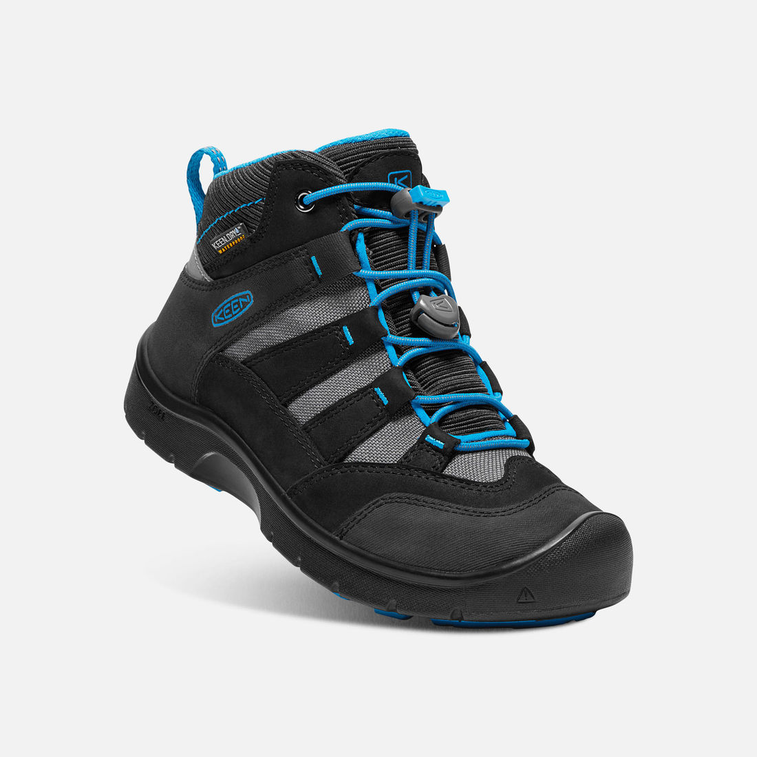 KEEN HIKEPORT MID WP JR black/blue jewel vel.32/33