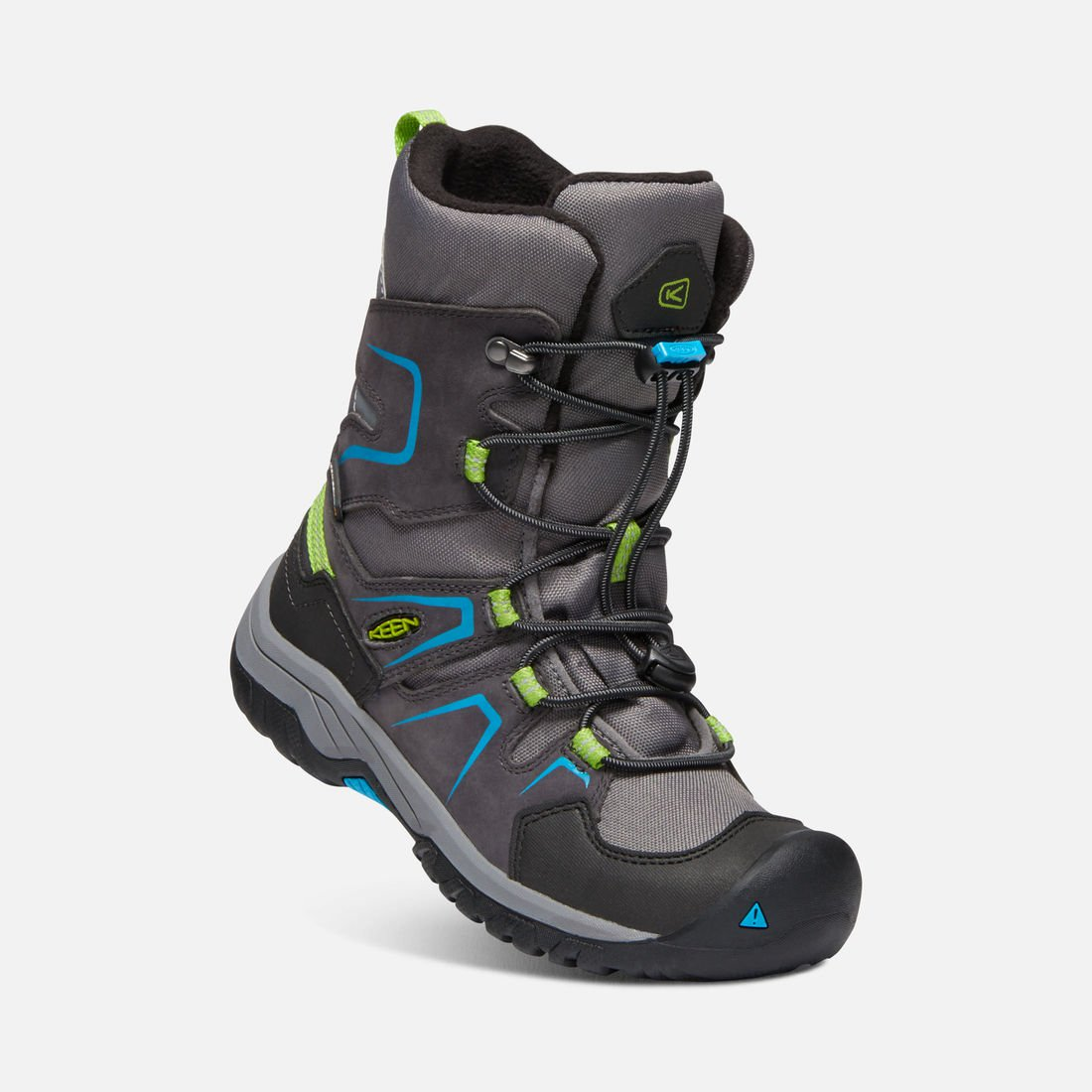 KEEN LEVO WATERPROOF WINTER BOOT šedé vel.32/33