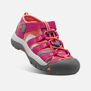 KEEN Newport H2 JR very berry/fusion coral vel.36