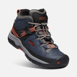KEEN TARGHEE MID WP JR blue nights/rooibos tea vel.37