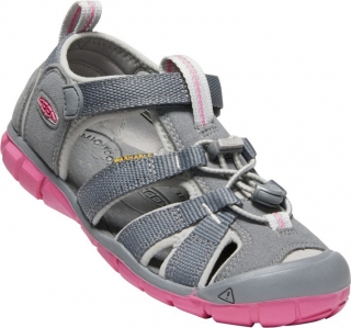 KEEN SEACAMP II CNX steel grey/rapture rose  vel.31