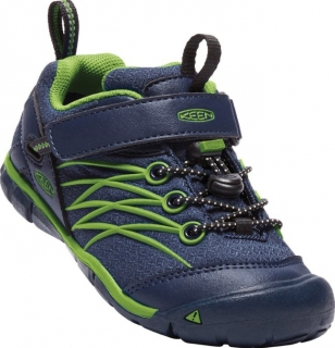 KEEN CHANDLER CNX WATERPROOF dress blues/greenery vel.29