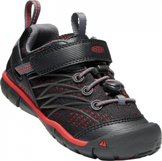 KEEN Chandler CNX raven/fiery red vel.27/28